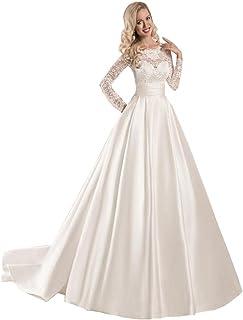 2f3dc22adc3ad Amazon.com: Long Sleeve - Wedding Dresses / Dresses: Clothing, Shoes ...