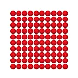 HeadShot Ammo for Toy Gun – Red Foam Balls Refill Pack, Compatible w/ Nerf Rival Prometheus and Other Nerf Rival Toy Guns for Boys & Girls, 100-rounds Rounds of Bullets