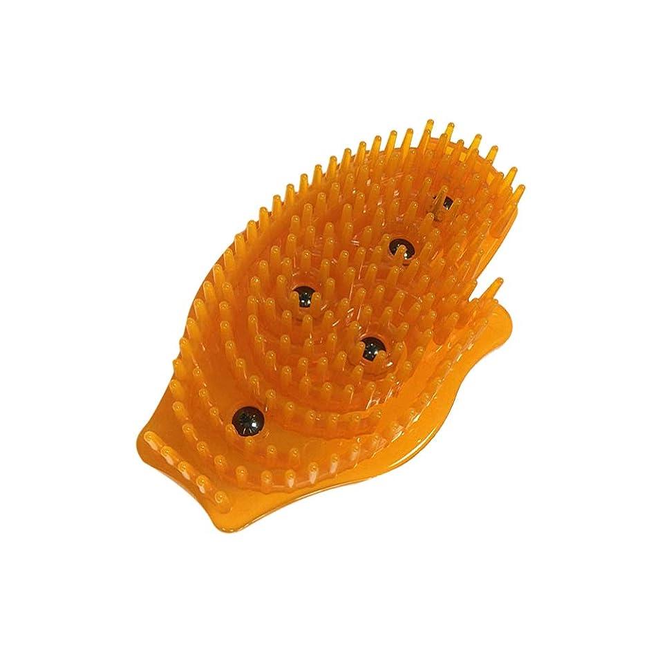 遅れスケジュールナチュラルSUPVOX スパでは、マッサージをリラックスするために磁気マッサージブラシの毛の頭皮マッサージ柔らかいシリコーン頭皮ケアブラシパーフェクト