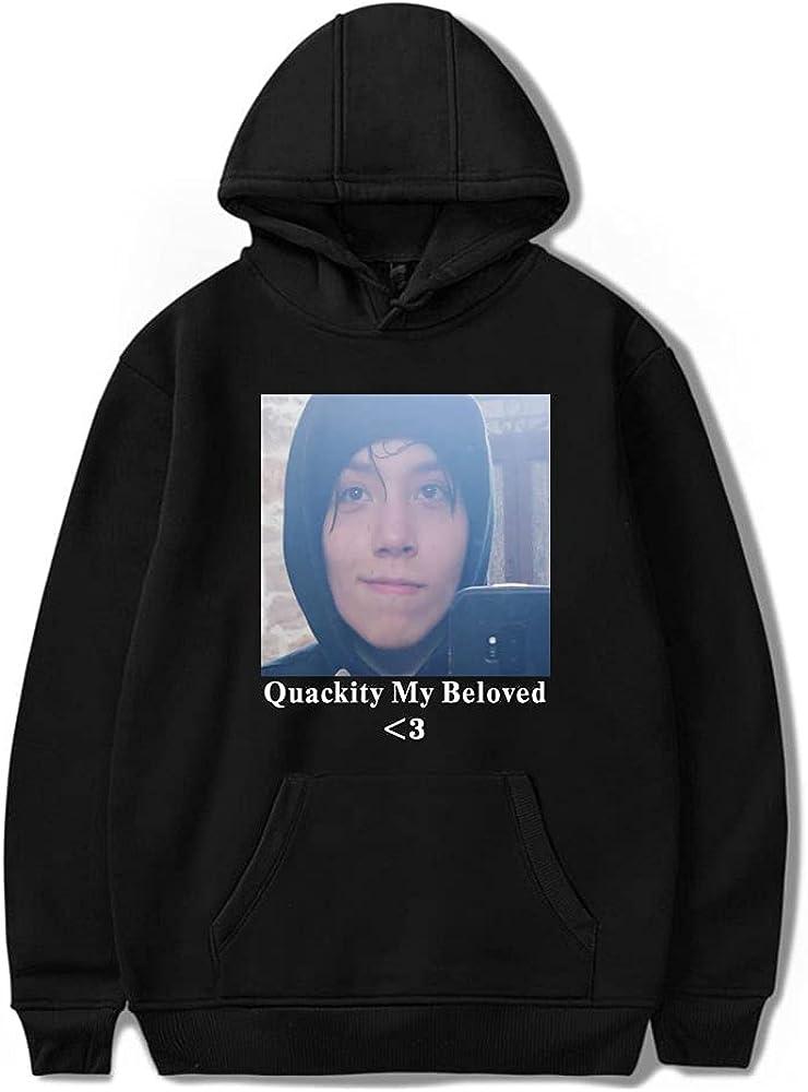 KEXSMFY Quackity My Beloved Merch Hoodie Men Women Sweatshirt Fashion Pullover Hip Hop Clothe