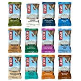 CLIF Bar - Energy Bar Variety Pack, 12 Great Flavors, Nutritious, Organic Ingredients, Sustains Energy (2.40 oz Protein Bar, 12 Count)