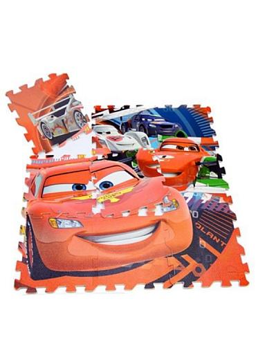 Disney Juego Alfombra Puzzle En Eva 9 Piezas Cars 90 x 90