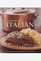 Williams-Sonoma Essentials of Italian Hardcover