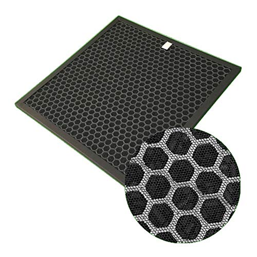 Wishful DIY Air Purifier Honeycomb Activated Carbon Filter Fit For Remove Dust Formaldehyde Pollen Odors 305 * 305 * 10mm