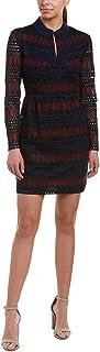 فستان نسائي رودين دايموند لين من الدانتيل بياقة مطوية من ترينا ترك
