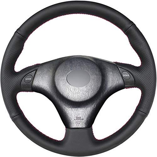 Cubierta Negra del Volante del Coche de Cuero PU DIY, para Toyota RAV4 Celica 1998-2005 MR2 2000-2004, para Lexus IS200 IS300 1999-2005