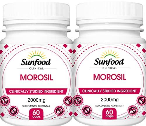 Morosil Extrato do Suco de Laranja Moro 2000 mg Sunfood 60 Softgel Kit 2 Unidades