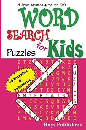 Word Search Puzzles for Kids: Volume 1