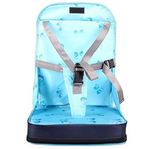 StillCool Seggiolino per Sedia pieghevole portatile Per Bambini, rialzo da sedia per bambini e neonati viaggio, con spugna di alta qualità e quattro c