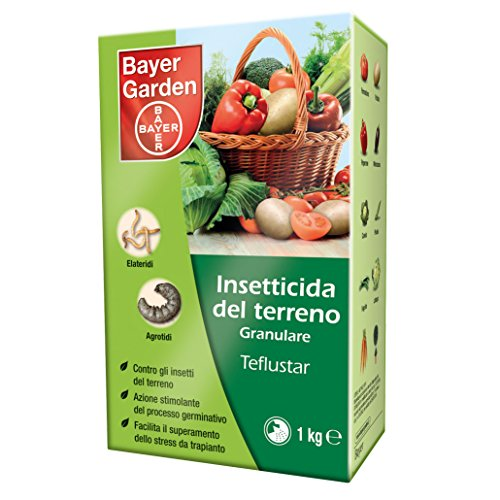 Insetticida granulare del terreno Bayer Teflustar 1 kg