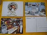 Antiguas 6 Postales Publicidad - Old Aldvertising Postcard : BIZERBA - Basculas...