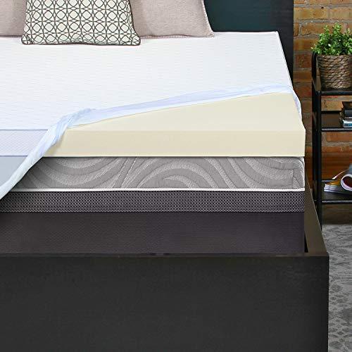 Sealy Performance - Colchón de Espuma viscoelástica de Gel de refrigeración de 7,6 cm, Doble