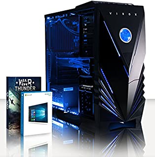 VIBOX Sniper 10XW Gaming PC Ordenador de sobremesa con Cupón de juego, Windows 10 OS (4,2GHz Intel i7 Quad-Core Procesador, Nvidia GeForce GTX 1070 Tarjeta Grafica, 16GB DDR4 RAM, 120GB SSD, 2TB HDD) (B00JLMTMO8) | Amazon price tracker / tracking, Amazon price history charts, Amazon price watches, Amazon price drop alerts