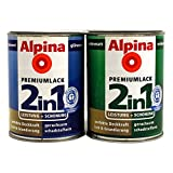 0,25L Alpina Premium Lack 2in1 Buntlack naturbast glänzend