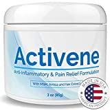 Activene Arnica Gel Cream - with Menthol and MSM. Pain Relief for...