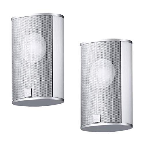 Canton 03478 CD 220.3 Lautsprecher Eloxiert Silber