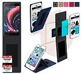 Hülle für HTC One X10 Tasche Cover Hülle Bumper | Blau | Testsieger
