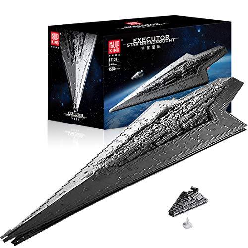 Hedi Super Star Zerstörer Executor, set da costruzione, Mould King 13134, UCS Imperial Destroyer, con mattoncini compatibili con Lego Star Wars