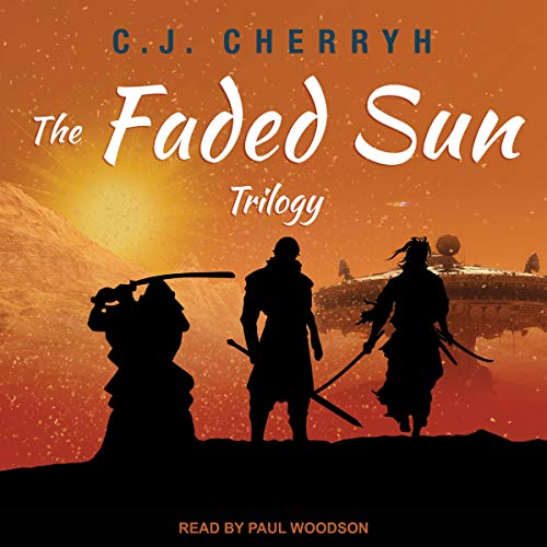 The Faded Sun Trilogy audiobook cover art