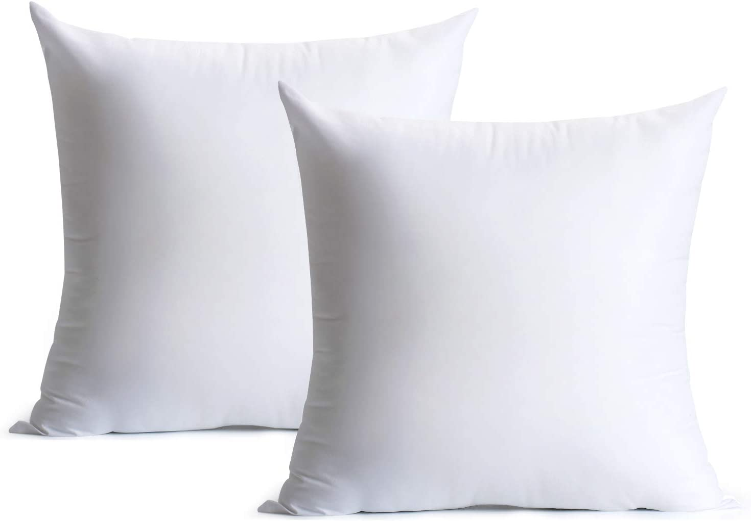 Calibrate Timing 18 x 18 Pillow Inserts, 2 Packs HypoallergenicÃ