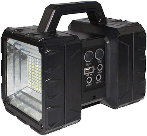 SZR Lampe de Camping portative Rechargeable par USB, adaptée à  la randonnée, Le Camping, Les urgences, Les pannes