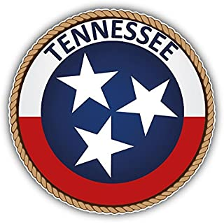 Tennessee USA State Seal Home Decal Vinyl Sticker 5'' X 5''