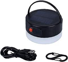 BRAVOSOLEIL Camping Lights Tent Lamp Outdoor Portable Solar Warm Light 4-speed Dimmen Orange Lantern