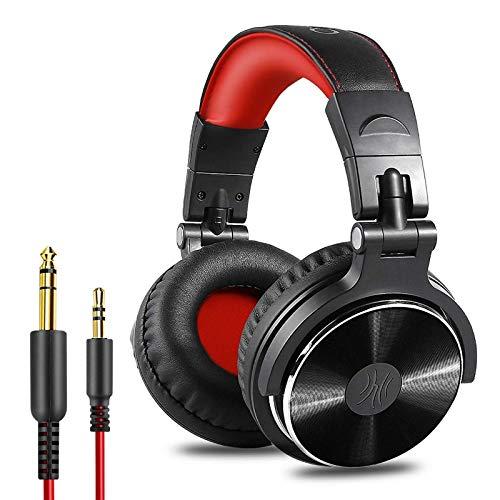 Wired Gaming Headset Professional DJ Headphones HiFi...