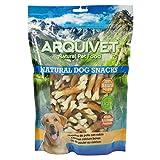 ARQUIVET Huesitos de Pato con Calcio - 1kg - Natural Dog Snacks - Snacks Perros - 100% Natural - chuches Perros - premios Perros - golosinas Perros - Snacks Naturales - Producto Light