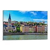 KDIK Lyon Französische Stadt Sommer Tr Vintage Reise