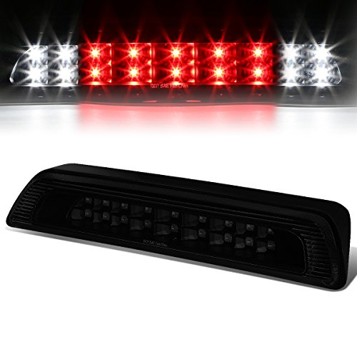 Dual Row LED Rear High Mount Tinted Housing 3rd Tail Brake Light Cargo Lamp Compatible with Toyota Tundra 07-18