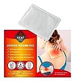 Parches térmicos para espalda y cuerpo, autoadhesivos, 10/24 unidades, 100% natural (10)