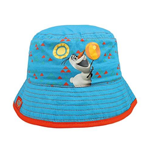 Disney Frozen 2200000285 - Sombrero con Olaf para niños, Color Negro, Talla única
