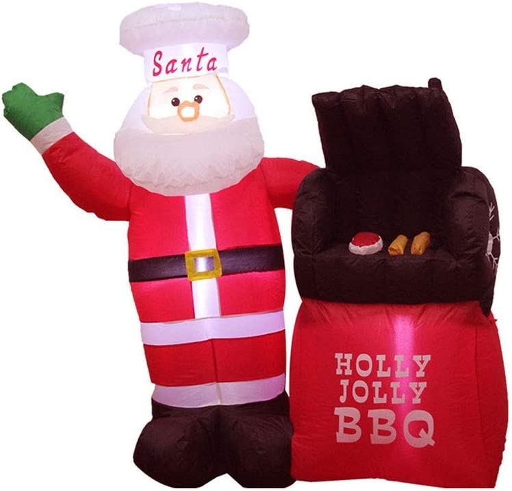 ZHJ Max 54% OFF Christmas Decoration Yard Claus w Inflatable Santa Limited Special Price