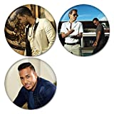 Romeo Santos : Yo También ft. Marc Anthony Pinback Buttons Badges/Pin 1.25 Inch (32mm) Set of 3 New