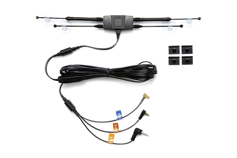 スケッチ約シェードカロッツェリア エアーナビ(Air navi) 高感度 吸盤取付 ワンセグTV & FM-VICS & GPS トリプルアンテナ AN-FL10 AN-M001 AN-FL001 AN-G031 代用品