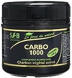 Sfb laboratoires - Charbon végétal activé poudre - 150 g pot - Ventre plat et...