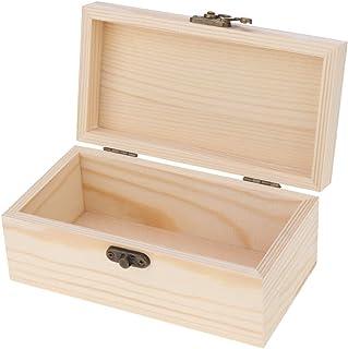 Ecomspace Jewelry Storage Case Watch Jewel Box Organizer Wood Trinket Container Tray M