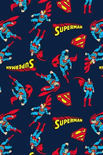 Product Image 2: DC Comics Men's Superman All Over Print Loungewear Pajama Pants (X-Large) Blue