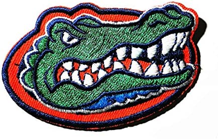 Green Label Crocodile The University of Florida American College Football FBS NCAA Patch Logo product image