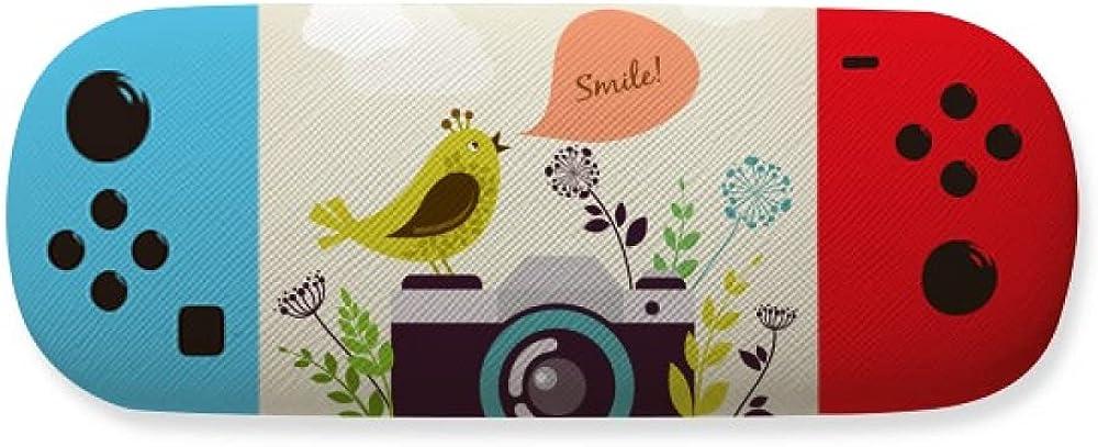 100% quality warranty! Illustration Bird Greeting on Camera Creati Case Storage Glasses New item