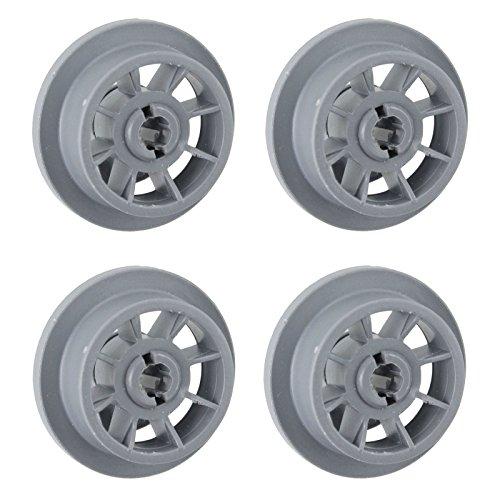 Spares2go Panier de roues pour Gaggenau lave-vaisselle (lot de 4, Large, 40 mm)