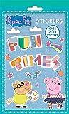 Los niños de niños Peppa Pig 700pegatinas Fun Party Loot Bolsa calcetín Fillers