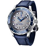 Pagani Design Seamaster Homage Automatic Diving Watches for Men Full Stainless Steel, Ceramic Bezel, Sapphire Mirror, 200M Waterproof Mechanical Wrist Watch