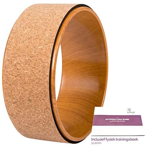 JAP Sports - Yoga Wheel - Yoga Rad - [Pro Series] Stärkstes und bequemstes Dharma Yoga Prop Rad, perfektes Zubehör zum...