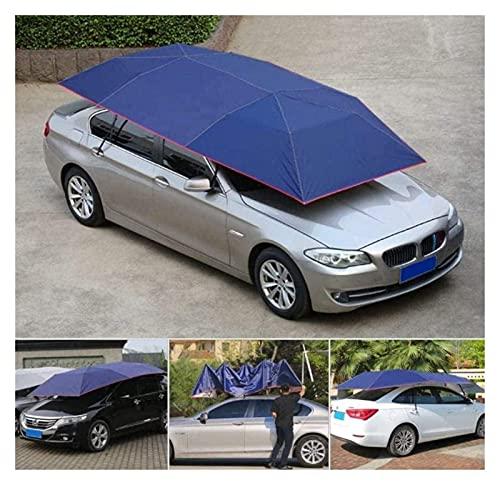 Tenda externa, barraca de teto de carro, portátil, controle remoto, carro, guarda-chuva, barraca, guarda-chuva, guarda-chuva, guarda-chuva, cor: azul