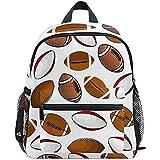 Daypack,Ballons De Rugby De Football Américain Enfants Utiles Sacs À Dos pour Escalade Randonnée Voyager,40cm(H) x29cm(W)