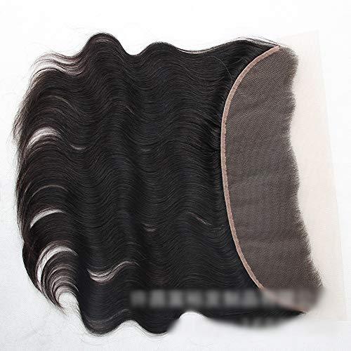 Natürliche Haarteile 13 * 4 Spitze Frontal Schließung Natürliches Menschenhaar Frontalkörperwelle...