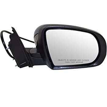 Passengers Power Side View Mirror Heated Signal Puddle Lamp Memory Replacement for 14-18 Jeep Cherokee 1UV68TZZAD CH1321375