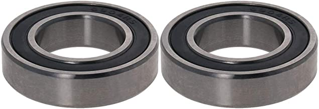 Othmro Deep Groove Ball Bearing 6904-2RS, Steel Double Shielded Ball Bearings ABEC-3 Dustproof 2PCS 20x37x9mm